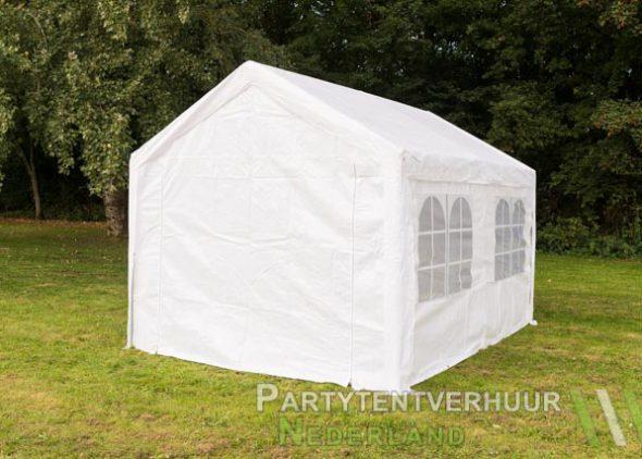 Partytent 3x4 meter achterkant huren - Partytentverhuur Amersfoort