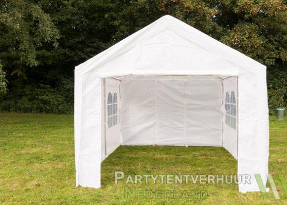 Partytent 3x4 meter voorkant huren - Partytentverhuur Amersfoort