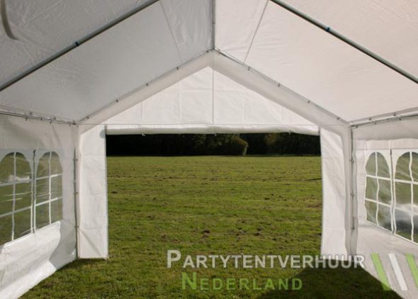 Partytent 4x4 meter binnenkant huren - Partytentverhuur Amersfoort