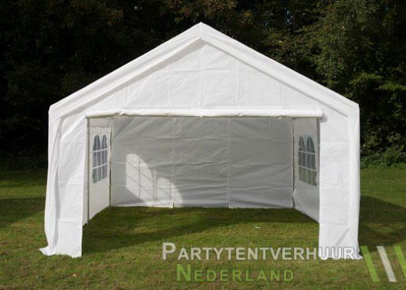 Partytent 4x4 meter voorkant huren - Partytentverhuur Amersfoort