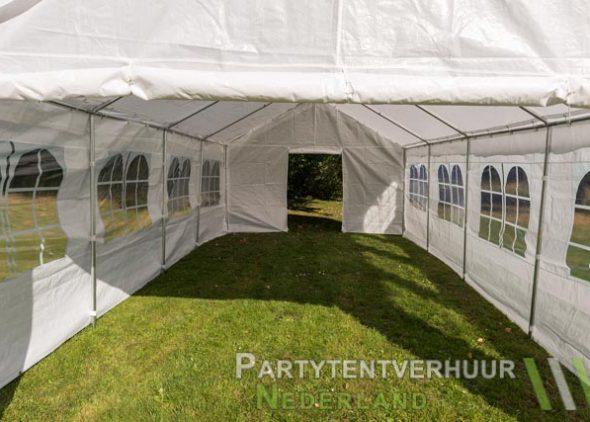 Partytent 4x8 meter binnenkant huren - Partytentverhuur Amersfoort