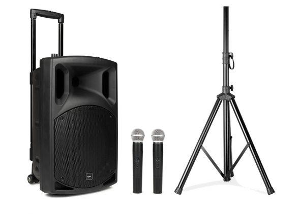 Complete geluidsinstallatie set maakt ieder feest of evenement compleet