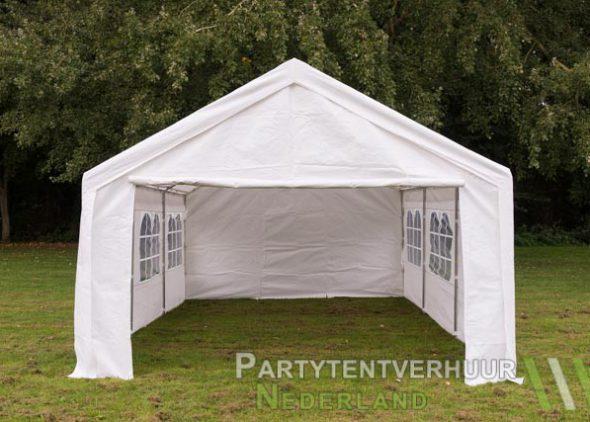 Partytent 4x6 meter voorkant huren - Partytentverhuur Amersfoort