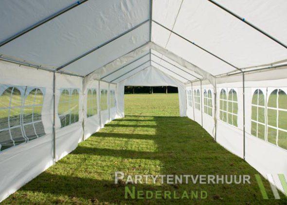Partytent 6x12 meter binnenkant open huren - Partytentverhuur Amersfoort