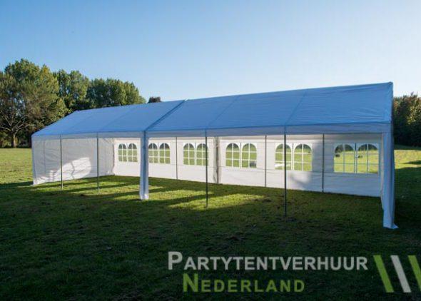 Partytent 6x12 meter zijkant open huren - Partytentverhuur Amersfoort
