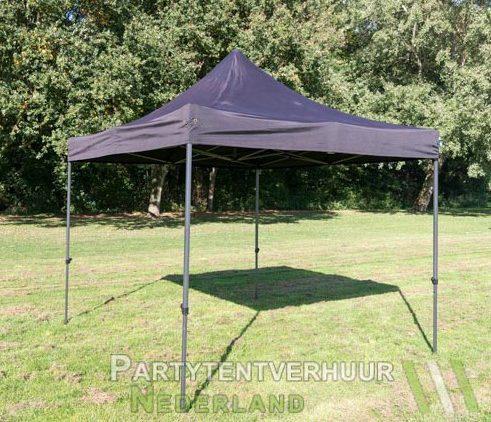 Easy up tent 3x3 meter schuin huren - Partytentverhuur Amersfoort