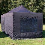 Easy up tent 3x6 meter achterkant huren - Partytentverhuur Amersfoort