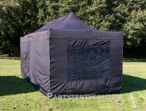 Easy up tent 3x6 meter achterkant huren - Partytentverhuur Eemland
