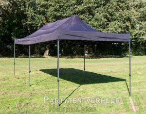 Easy up tent 3x6 meter schuin voorkant huren - Partytentverhuur Amersfoort