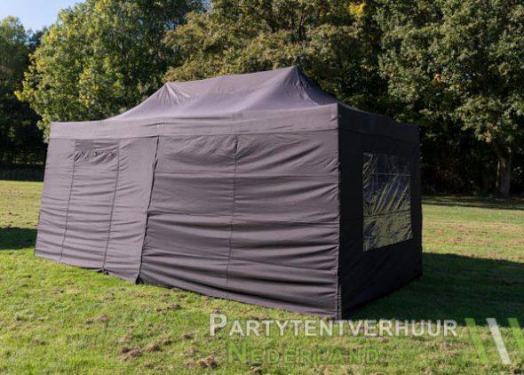 Easy up tent 3x6 meter zijkant huren - Partytentverhuur Amersfoort