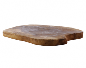 Houten serveerplank 25 cm huren - Partytentverhuur Eemland