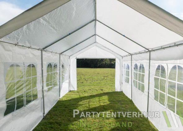 Partytent 3x6 meter binnenkant (2) huren - Partytentverhuur Amersfoort