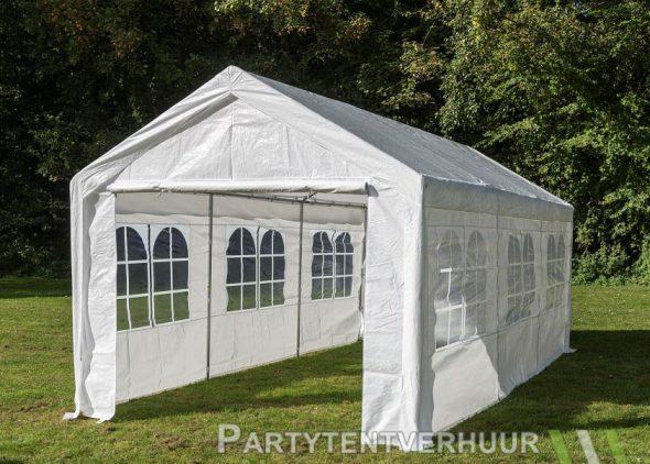 Partytent 3x6 meter zijkant huren - Partytentverhuur Amersfoort