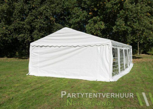Partytent 5x10 meter achterkant huren - Partytentverhuur Amersfoort