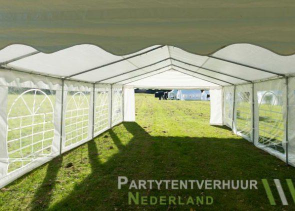 Partytent 5x10 meter binnenkant huren - Partytentverhuur Amersfoort