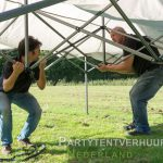 Easy up tent opzetten Amersfoort