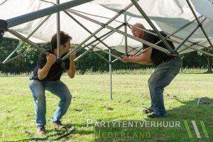 Easy up tent opzetten Amersfoort