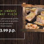 BBQ pakket lekker visje bestellen Amersfoort