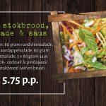 BBQ pakket stokbrood, salade & saus Amersfoort