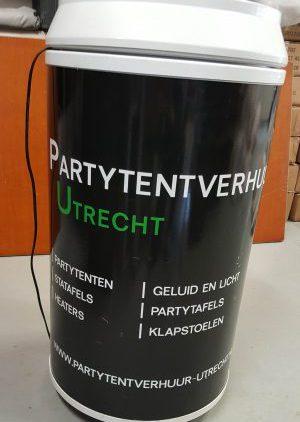Houd je biertjes lekker koel met deze bierkoeler van Partytentverhuur Eemland